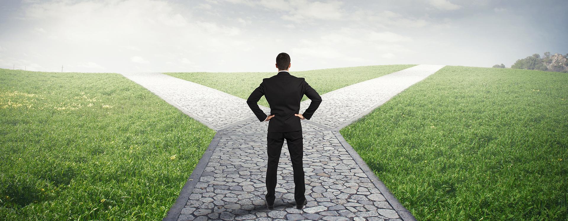 MARCH steht für…<br />…den richtigen Weg einschlagen!